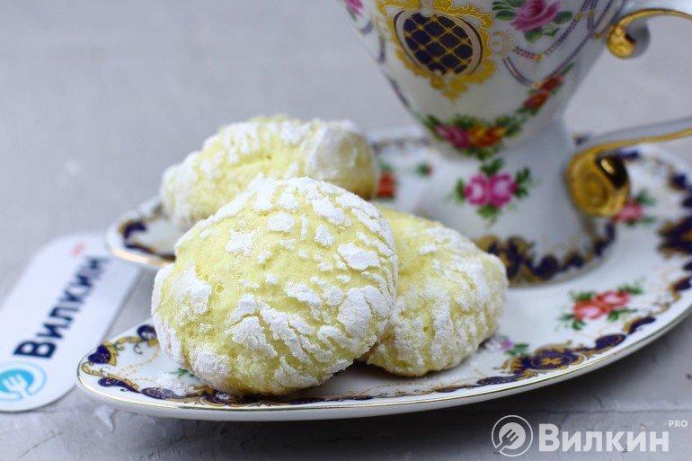 Лимонное печенье на сладкий стол