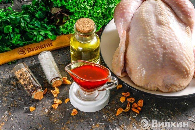 Готовый маринад для запекания курицы