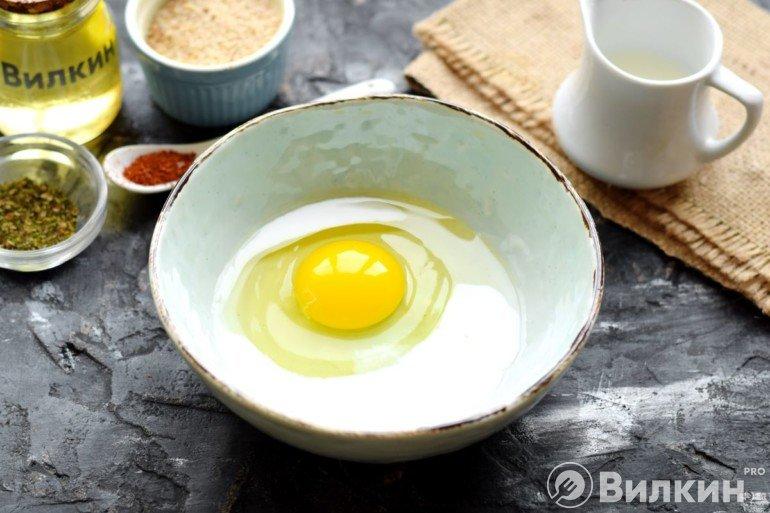 Молоко и яйцо