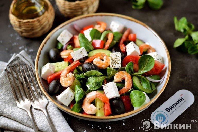 Дегустация греческого салата