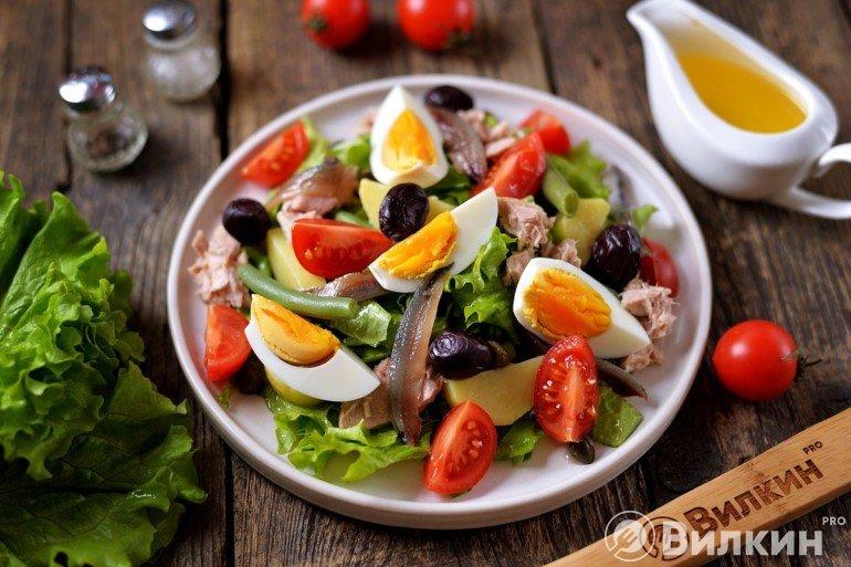 Французский салат «Нисуаз»