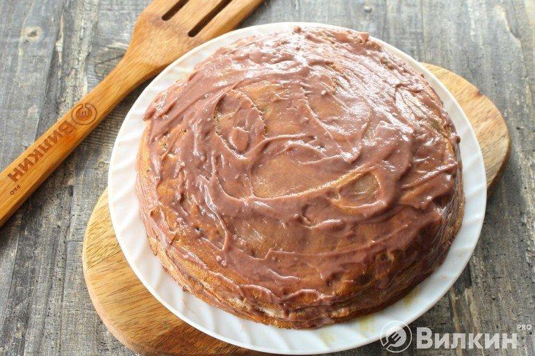 Сборка всего торта