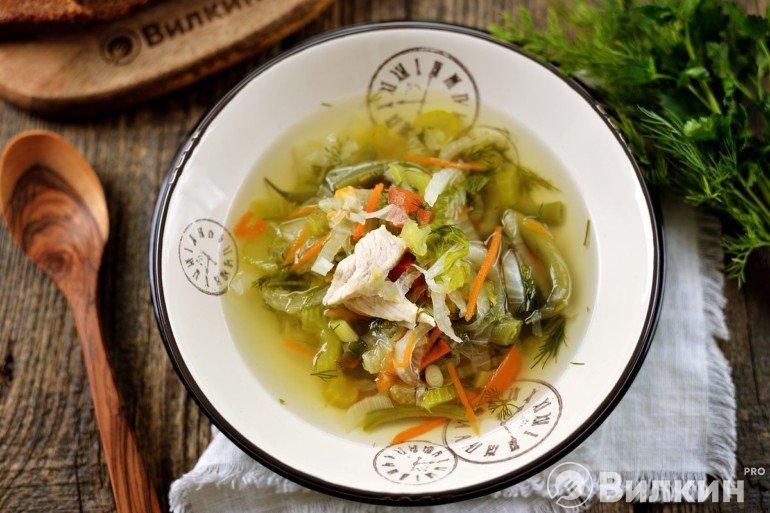Диетический Суп Для Похудения Сельдереем. Правильный суп из сельдерея для похудения
