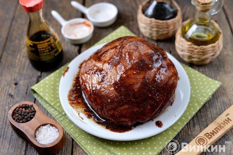 Обмазывание мяса