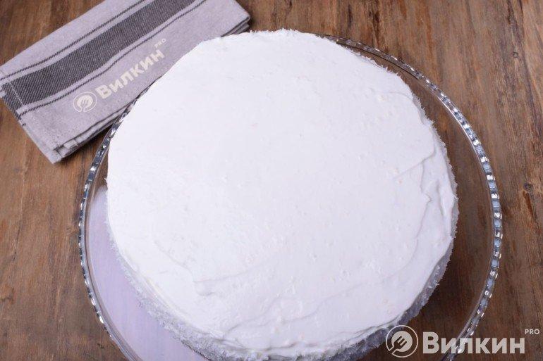 Покрытие слоем крема
