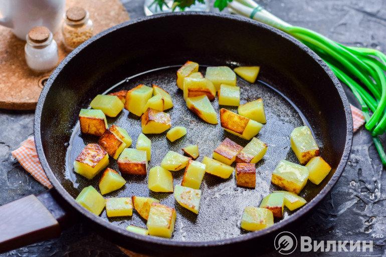 Обжарка картошки