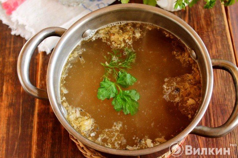 Введение рыбы в суп
