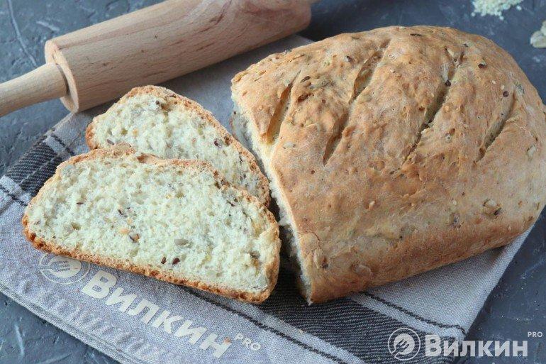 Вкусный зерновой хлебушек