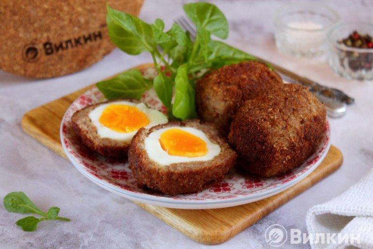 Яйца по-шотландски в домашних условиях