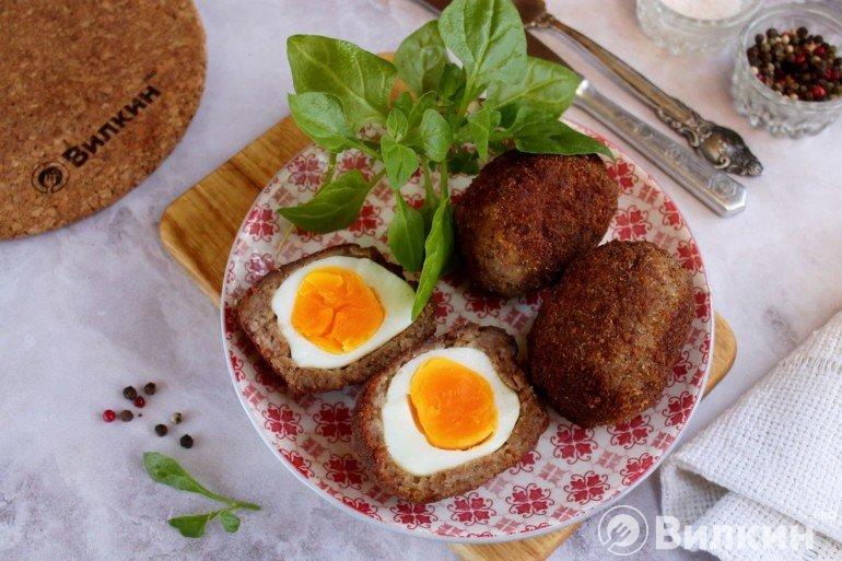 Яйца по-шотландски классические