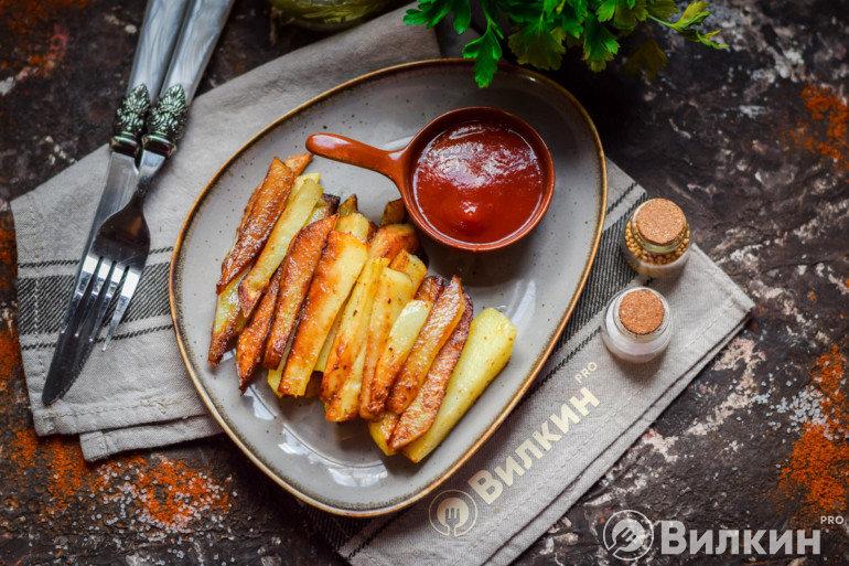 Картошка фри в духовке в домашних условиях