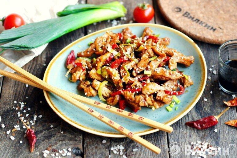 Курица по-китайски в домашних условиях