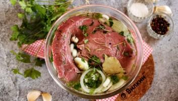 Маринад для говядины для запекания в духовке