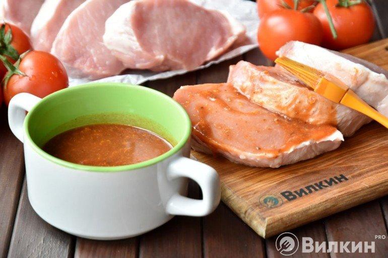 Маринование мяса в апельсиновом маринаде