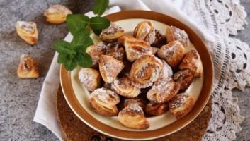 Печенье «Гусиные лапки» из творога