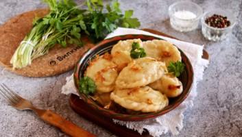 Постные вареники с картошкой