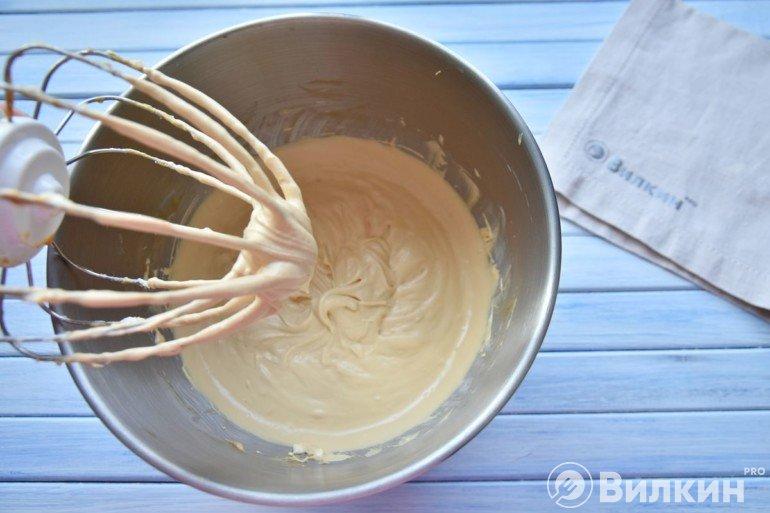 Взбивание крема