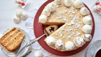Торт медовик «Медовая мечта»