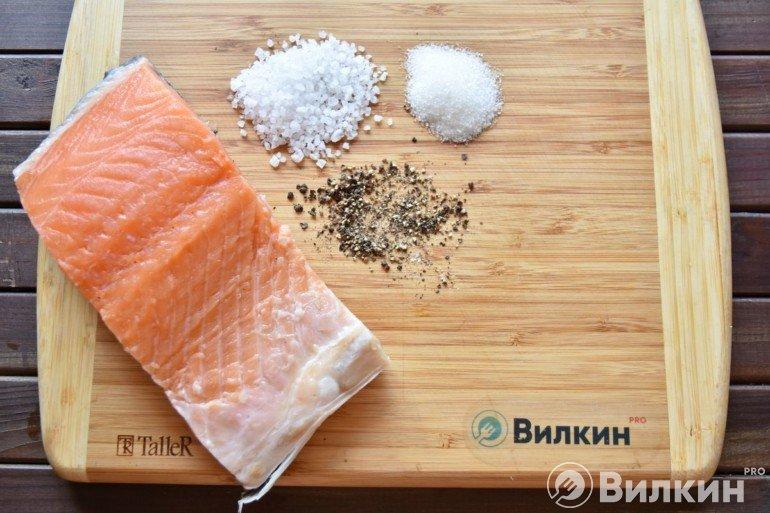 Подготовка соли и специй