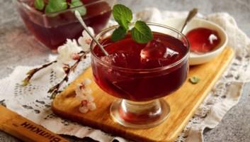 Желе из вишни с желатином