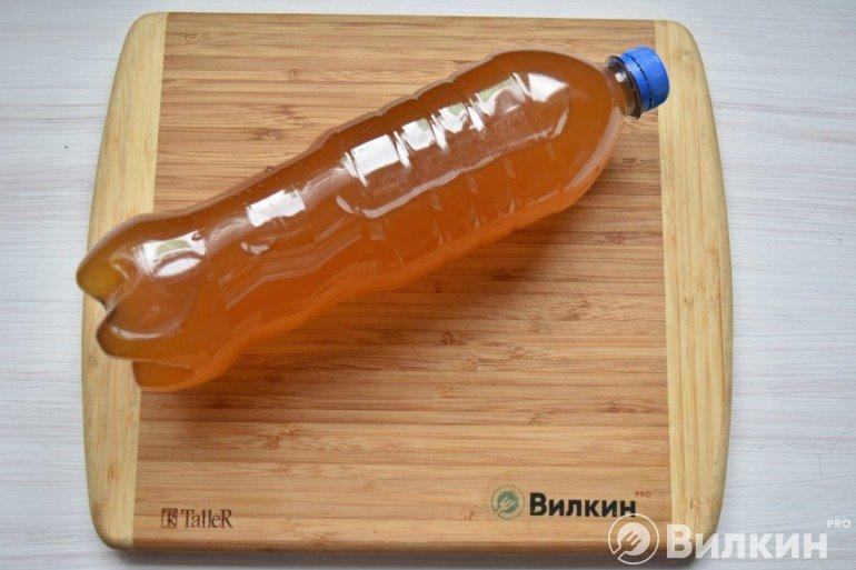 Заполненная бутылка
