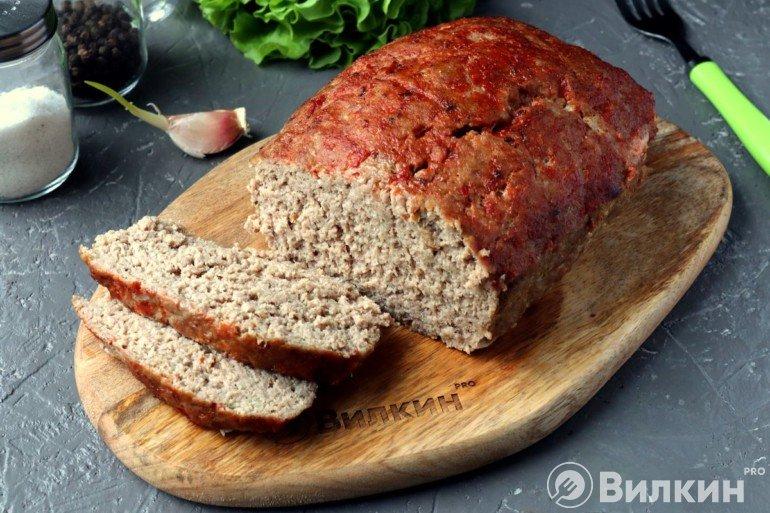 Мясной хлеб в домашних условиях