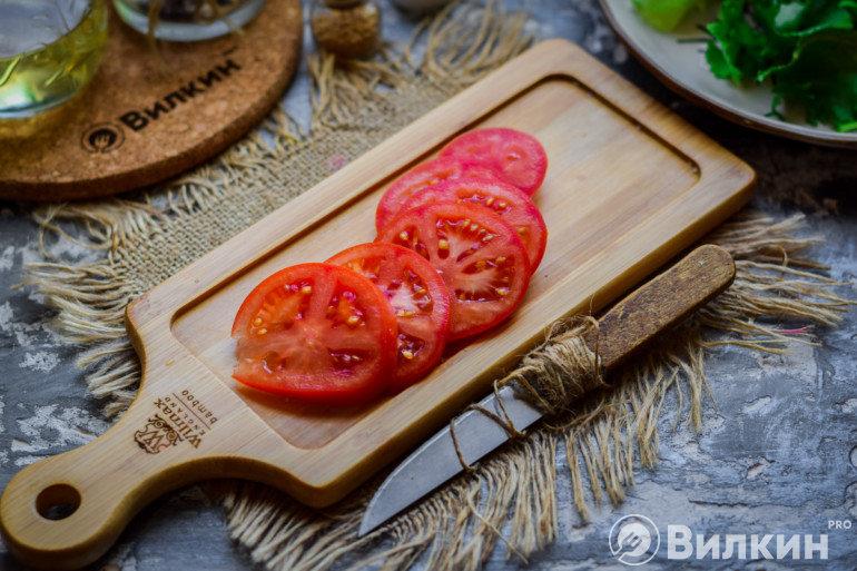 Кружки помидора