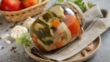 Ассорти из овощей без стерилизации на зиму