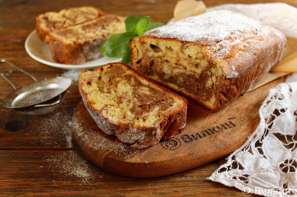 Мраморный пирог рецепт с фото пошагово пассажир