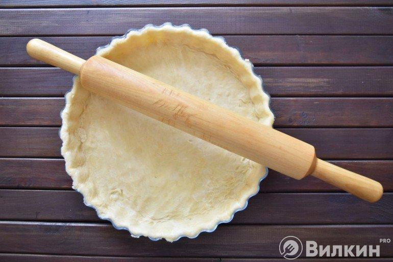 Формование основы пирога