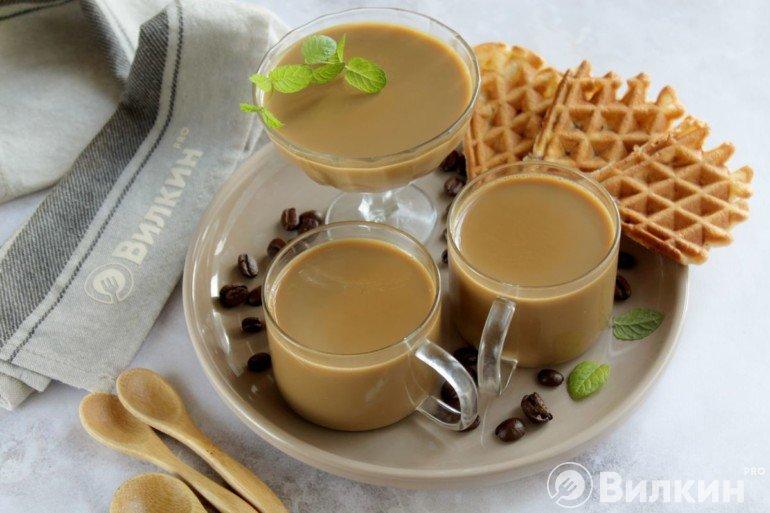 Кофе по-баварски на десерт