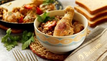 Курица в сливках в духовке