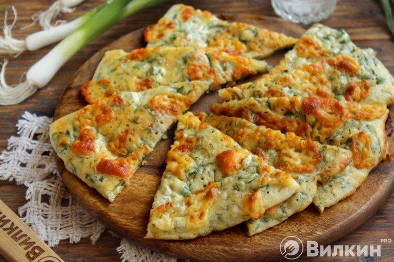 Вкусные лепешки с сыром
