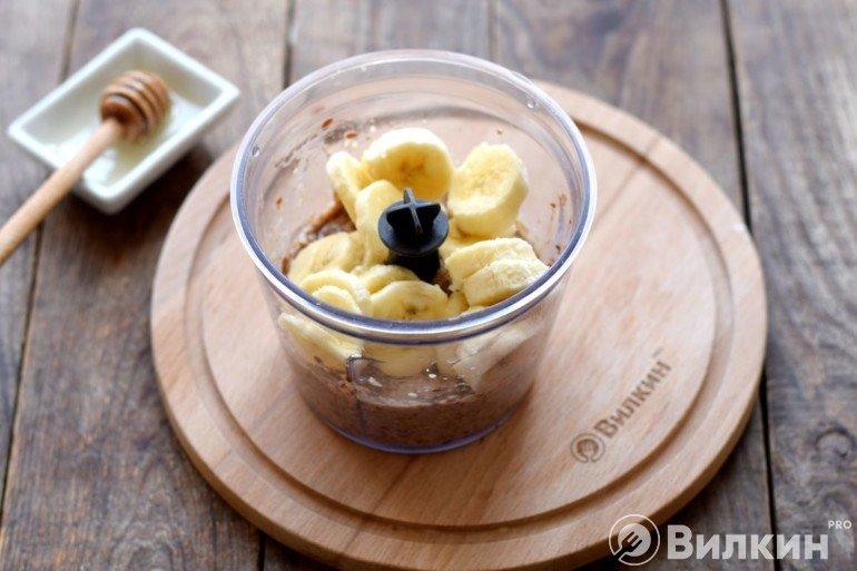 Закладка бананов