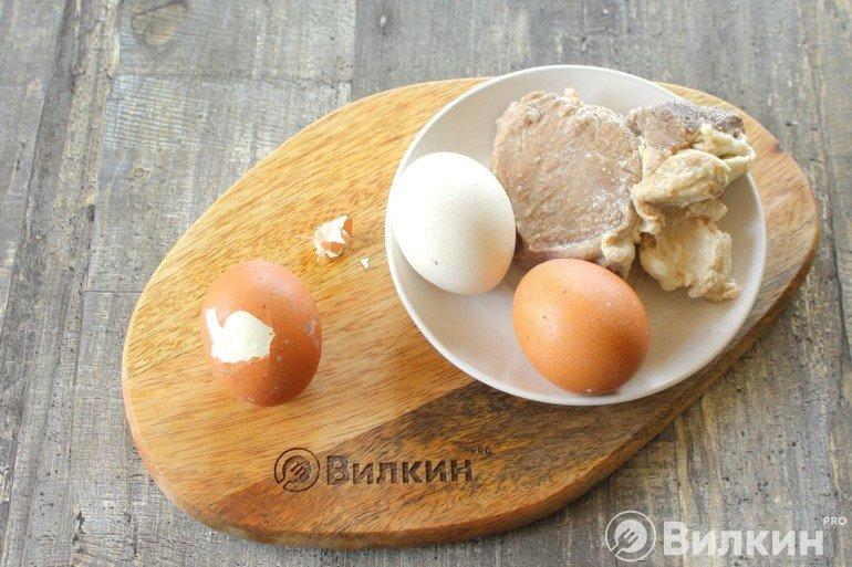 Очистка яиц