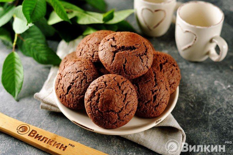 Шоколадное печенье