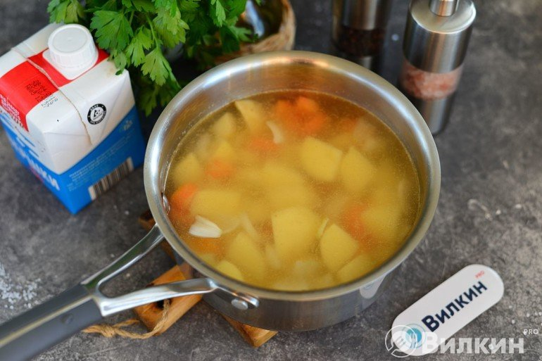 Варка овощей и картошки