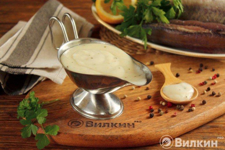 Нежный сливочный соус для рыбных блюд