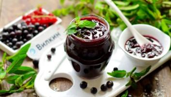 Варенье из черной смородины на зиму пятиминутка