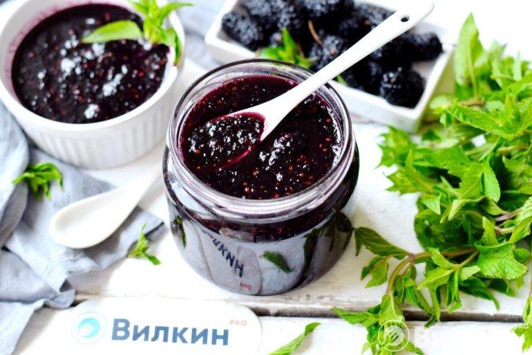 Варенье из шелковицы для сладкого стола