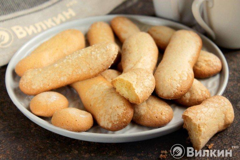 Бисквитное печенье в домашних условиях