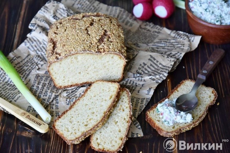 Хлеб по рецепту Дюкана