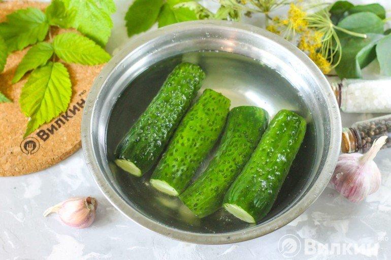 Промывание овощей