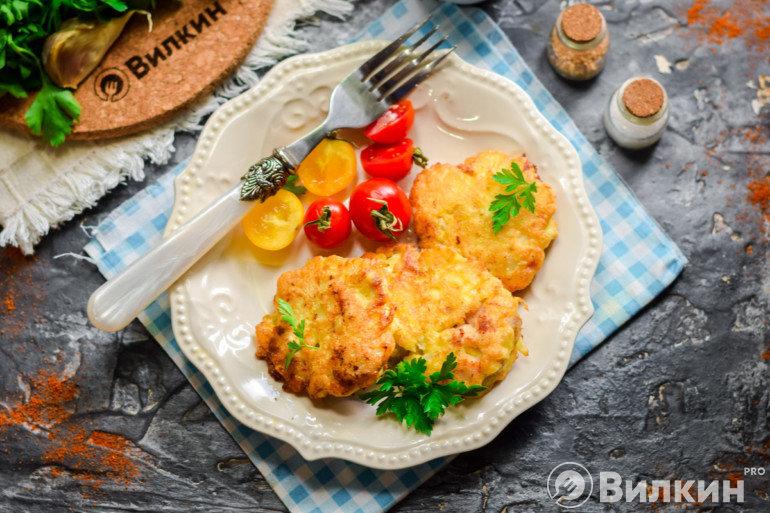 Курица по-албански