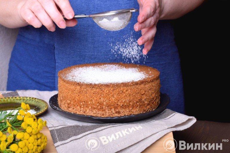 Пирог из сухого киселя