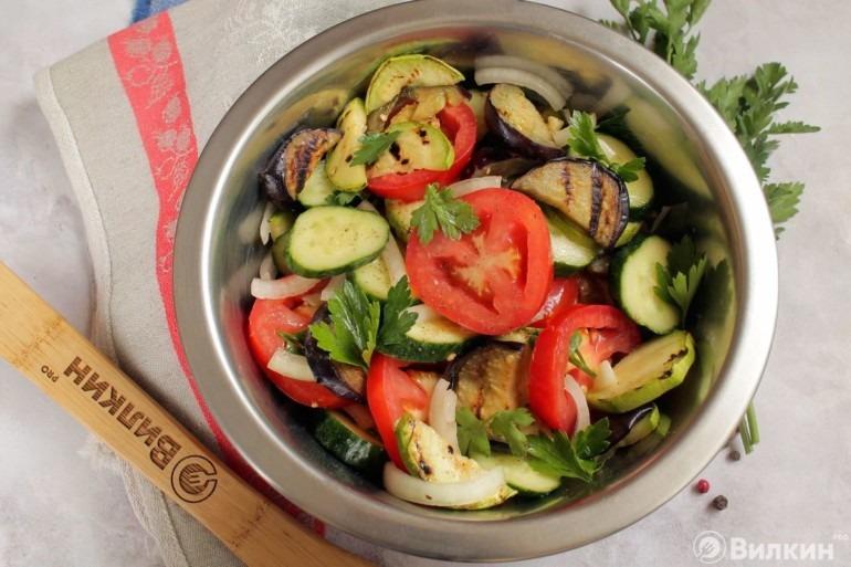 Салат на природу к шашлыку