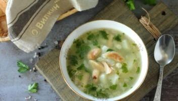 Суп из рыжиков