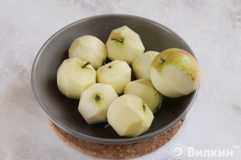 Очищенные фрукты