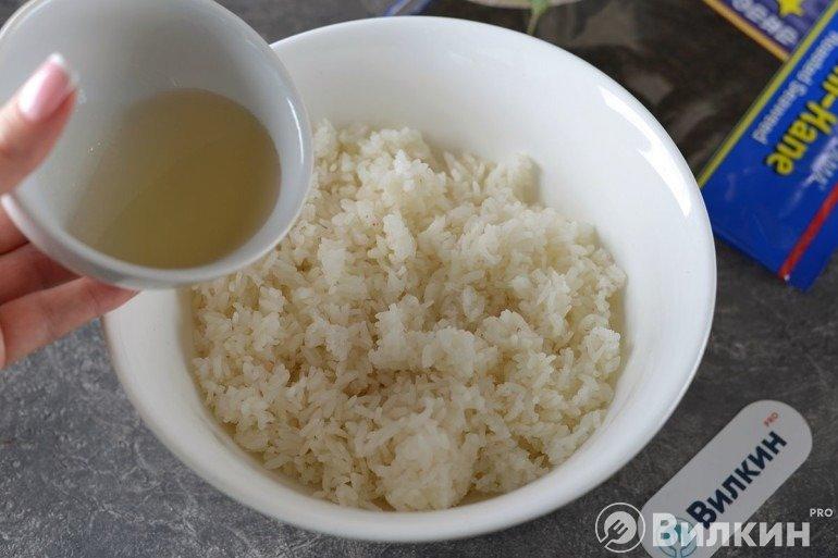 Заправка риса