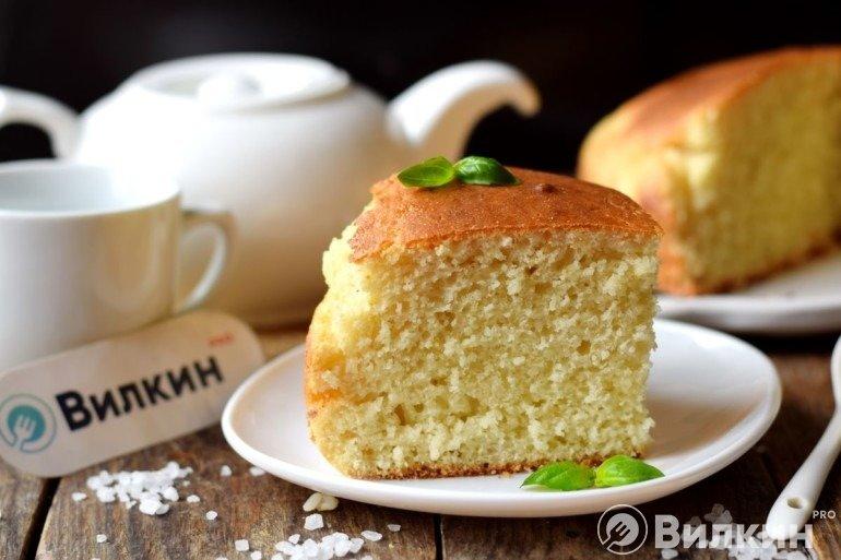 Кусочек манного пирога